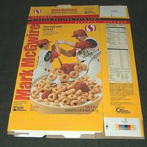 1999 Safeway Mark McGwire & Son, Tony La Russa Replica Signature Cereal Box - $11.98