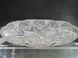 *ABP Crystal Cut Glass celery Wheel polished - $110.92