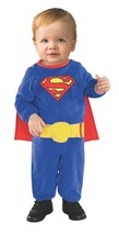 Superman Infant Halloween Costume 885301 DC Comics Childrens Dress Up 0-... - €7,87 EUR