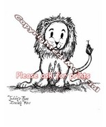 Judah's Rose 8 x 10 Print Lion Cat Star of David Kat-Renee Kittel - $20.00