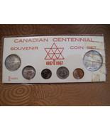 Canadian Centennial Souvenir Coin Set 1867 1967 Canada Collectible Money... - $49.95