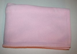 "Circo Target BABY BLANKET Pink Boa Plush Solid Girls Lovey 2010 Soft 29x39"" - $348,40 MXN"