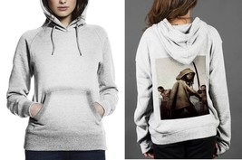 Classic Hoodie White women Zombie The Walking Dead Samurai - $28.99