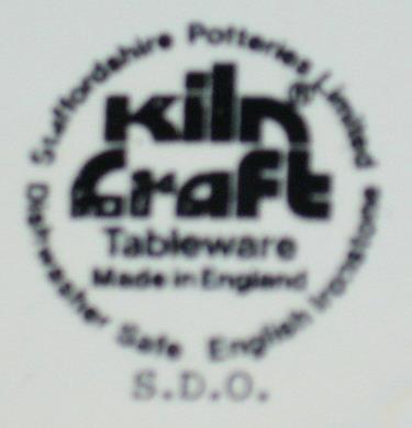 Kiln Craft-Staffordshire Ironstone-Tennis Player-Coffee Mug-England-1975