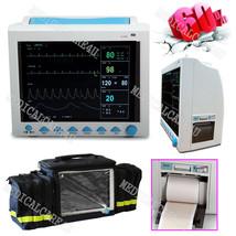 FDA CE ICU Vital Signs Monitor Patient Monitor 6 Parameters W Printer+Ba... - $595.31