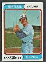 Montreal Expos John Boccabella 1974 Topps Baseball Card #253 - $0.50