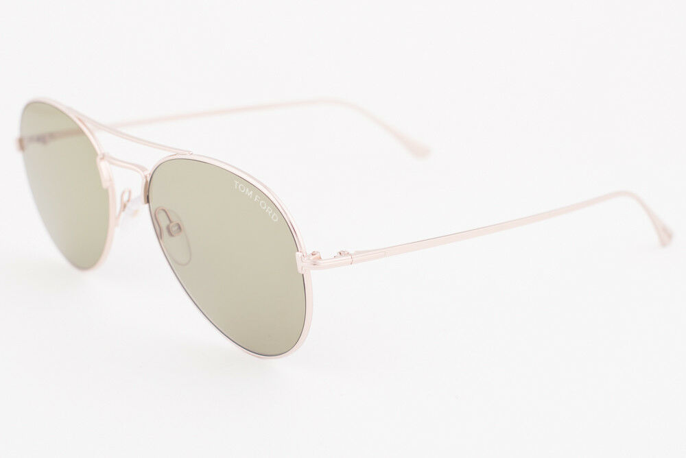 Primary image for Tom Ford Ace 02 Gold / Green Sunglasses TF551 28N