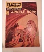 Classics Illustrated Comic Book #83 Jungle Book Kipling  Mowgli Animal A... - $8.97