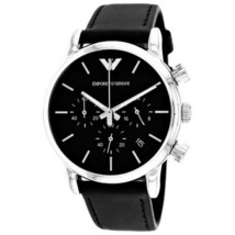 Emporio Armani AR1733 Classic Chronograph Black Dial Men's Watch - $208.79 CAD