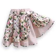 Girl's Skater Skirt, Pink Floral - £33.26 GBP