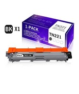 1-Pack Black Cartridge Replacement for Brother TN221 TN221BK TN-221 Work... - $60.55
