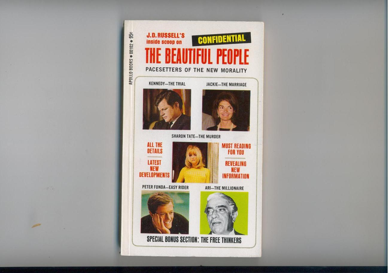 Primary image for Russell - THE BEAUTIFUL PEOPLE - 1970 - Teddy, Jackie, more