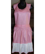 1950's Full Front Pinafore APRON Union Lable Defect Free & Free US Shipping - $79.99