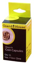 Guardhouse Dime 18mm Direct Fit Coin Capsules, 10 pack - $5.99