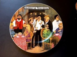 """GUY BUFFET TUSCAN STOREFRONTS PLATE DINNER LARGE 11"""" ITALIAN ITALY TOSCANA - $20.70"""
