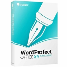 WordPerfect Office X9 Home and Student  Free  Shipping! Retail Box - $60.76