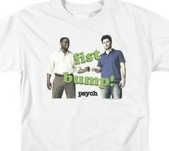 Fist Bump T-shirt Psych comedy drama TV series Shawn Spencer graphic tee NBC910 image 2