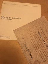 Knowles - Waiting On The Shore - Ltd Ed 1981 - 5478H - $14.95