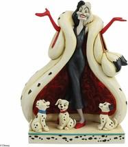 Enesco Disney's Cruella de Vil Jim Shore Statue Standard Sealed Brand New - $74.24
