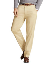 Brooks Brothers Men's Performance Series Pants, Khaki Beige 33W x 30L 56... - $63.36