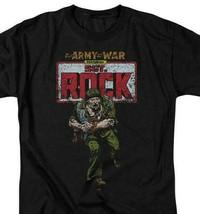 Sgt Rock T-shirt Army War retro DC comic book cartoon superfriends cotton DCO458 image 1