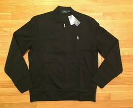 Polo Ralph Lauren Men's Double Knit Tech Fleece Bomber Track Jacket NWT ... - $74.24