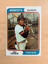 1974 Rod Carew Topps Baseball Card #50 (Original) - $13.86