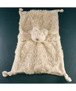 """teggy Bear Baby Blanket Tan Once Upon A Time Security Lovey soft 14"""" x 8"""" - $14.84"""