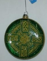 Roman 3 Piece Christmas Irish Theme Ornament Set Cross Bell Ornamental image 2