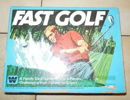 FAST GOLF Whitman Game Vintage 1977 100% Complete - $23.38