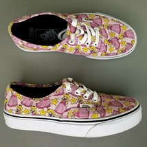 Vans Authentic X Nintendo Princess Peach Shoes Womens Size 7 Pink White - $56.09
