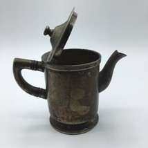 WEAR BRITE Nickel Silver CREAMER MILK SERVER Vintage  - $18.66