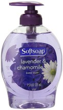 Softsoap Liquid Hand Soap w/ Pump Lavender & Chamomile Soothing Scent 7.... - $5.24