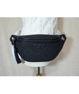 NWT Tory Burch Matte Black Fleming Belt Bag/Fanny Pack - $298.03