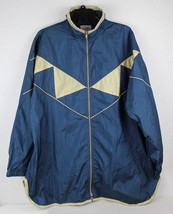 Vintage Roaman's women's jacket nylon blue made in Taiwan size L - $20.24