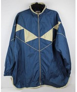 Vintage Roaman's women's jacket nylon blue made in Taiwan size L - $20.24