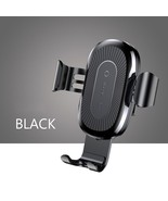 Baseus 10W Wireless Charger Car Holder For iPhone X 8 Samsung Note8 S8 Q... - $25.40