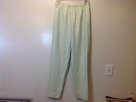 Annie Walwin Jones Pale Mint Green Pants Sz M