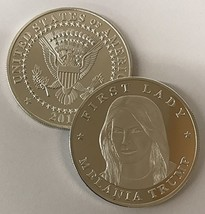 First Lady Melania Trump Commemorative Novelty Coin - Donald Trump Coin ... - $5.13