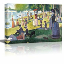 wall26 A Sunday on La Grande Jatte by Georges Seurat Giclee Canvas Print... - $59.95