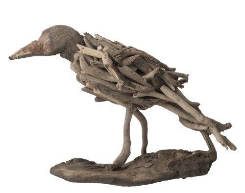 Gilded Barn Dimond Home Driftwood Bird