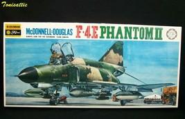 Rare McDonnell Douglas F-4E Phantom II USAF ATTACK FIGHTER Model Kit 077... - $38.65