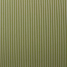 WOVEN STRIPE PASTEL GREEN AND WHITE MULTIPURPOSE FURNITURE FABRIC BY YAR... - $9.74