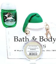 Bath and Body Works Vanilla Bean Noel Scentportable, Pocketbac & Holder ... - $19.29