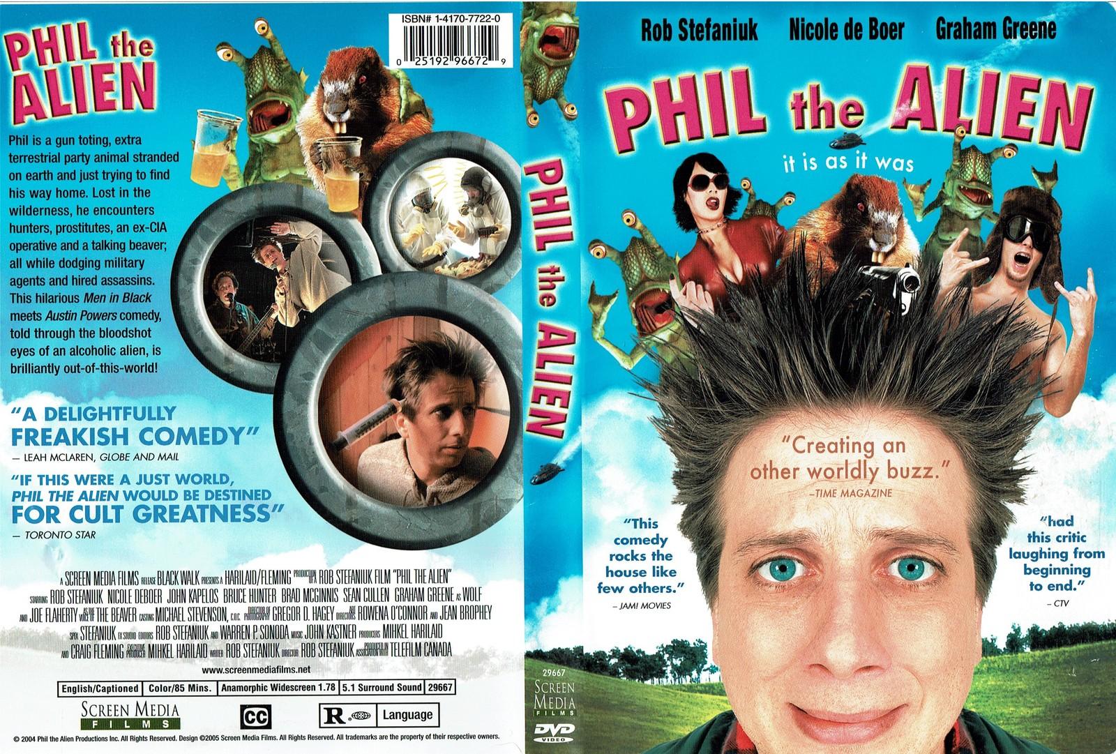 Phil the Alien, Starring Boyd Banks, Christopher Barry, DVD, Very Good