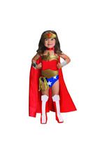 Wonder Woman Costume Kids Toddler Girls Superhero Halloween Fancy Dress ... - £14.26 GBP