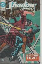 The Shadow Strikes #4 - December 1989 - DC Comics - Bitter Fruit Jones & Barreto - $1.08