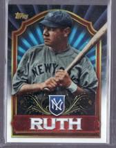 2011 Topps Value Box Chrome Refractors Babe Ruth #MBC3 - $5.99