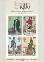 GB 10 x 1979 Rowland Hill unmounted mint mini / miniature sheet MNH m/s ... - $7.34