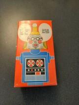 Vintage Avon Mr Robottle unassembled in Box Bubble Bath Robot Looking Toy - $19.80